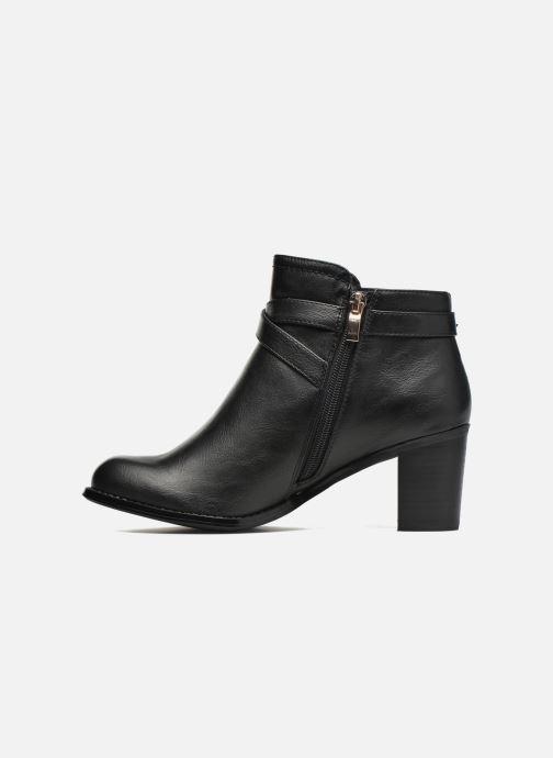 Boots en enkellaarsjes Divine Factory Elisa Zwart voorkant