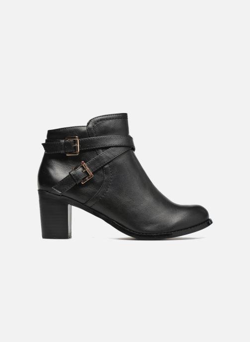 Boots en enkellaarsjes Divine Factory Elisa Zwart achterkant