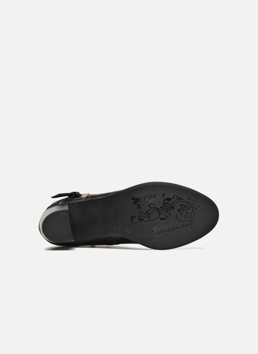 Boots en enkellaarsjes Divine Factory Elisa Zwart boven