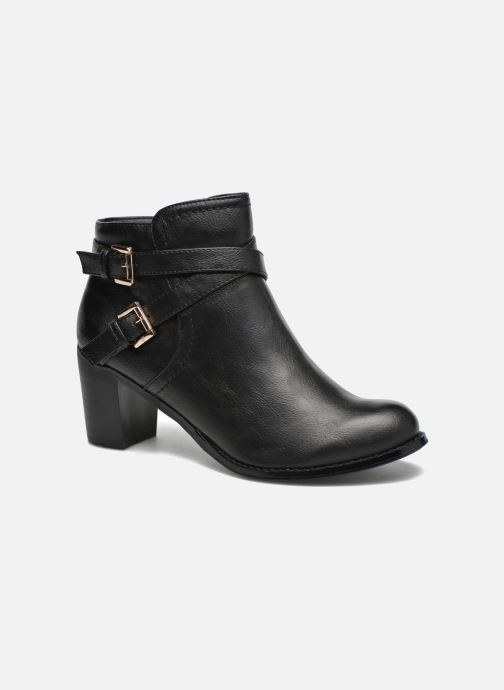 Ankle boots Divine Factory Elisa Black detailed view/ Pair view