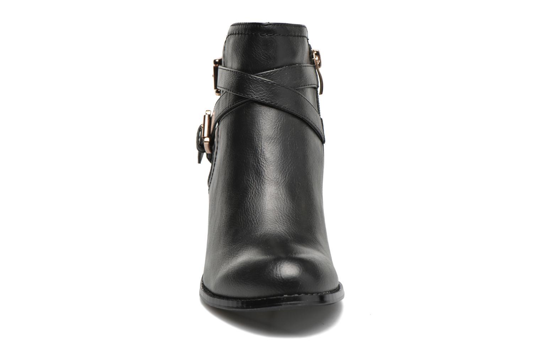 Bottines et boots Divine Factory Elisa Noir vue portées chaussures