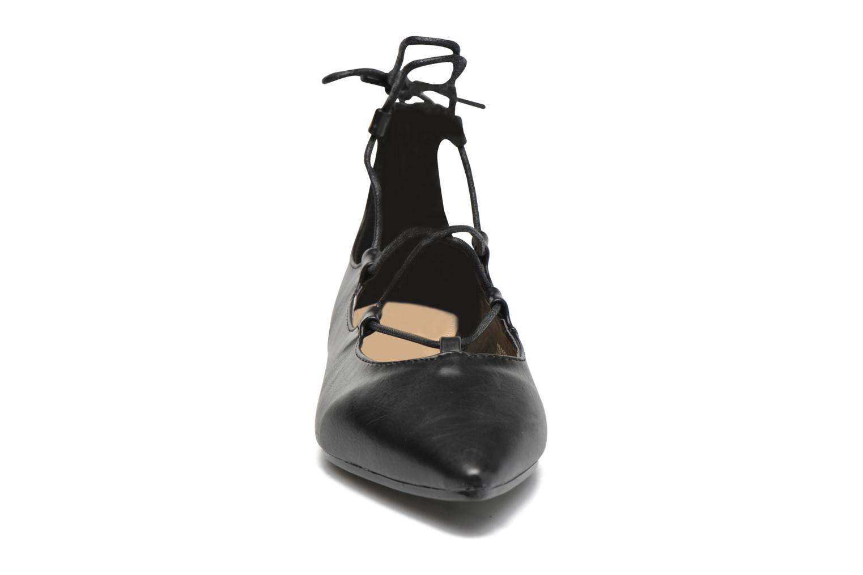 Ballerines Divine Factory Lola Noir vue portées chaussures