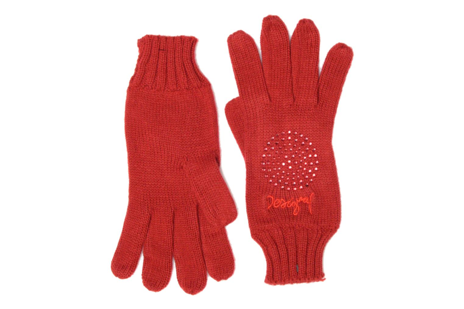 Miscellaneous Desigual Coffret foulard/gants Red front view
