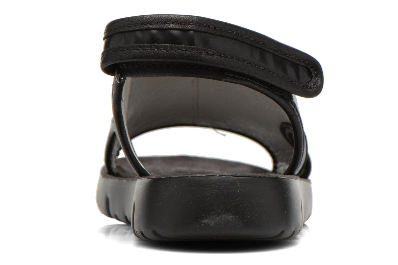 Sandales et nu-pieds Camper Oruga 22541 Noir vue droite