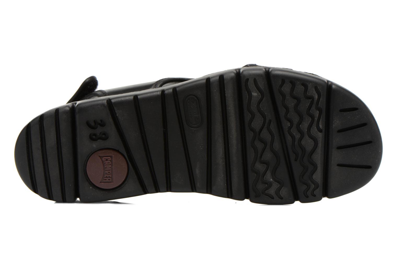 Sandales et nu-pieds Camper Oruga 22541 Noir vue haut