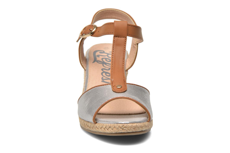 Sandales et nu-pieds Refresh Palino-60523 Argent vue portées chaussures