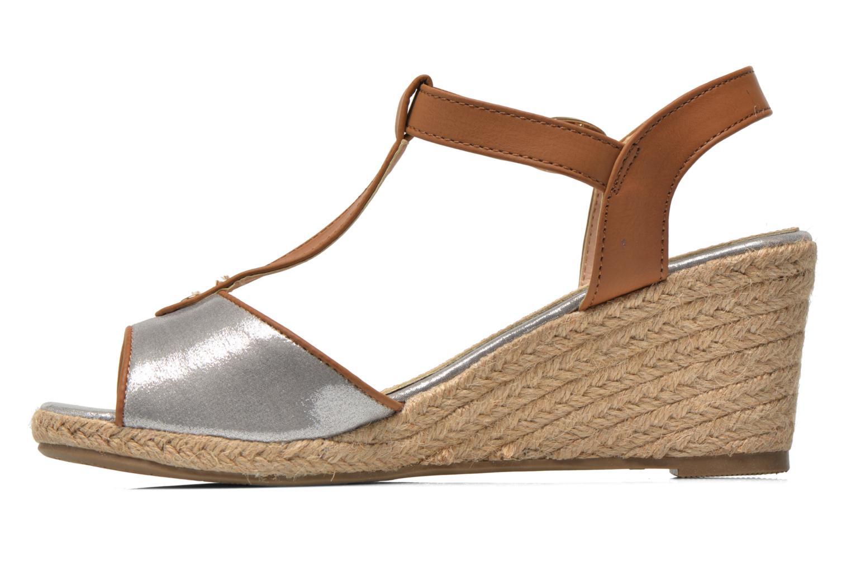 Sandales et nu-pieds Refresh Palino-60523 Argent vue face