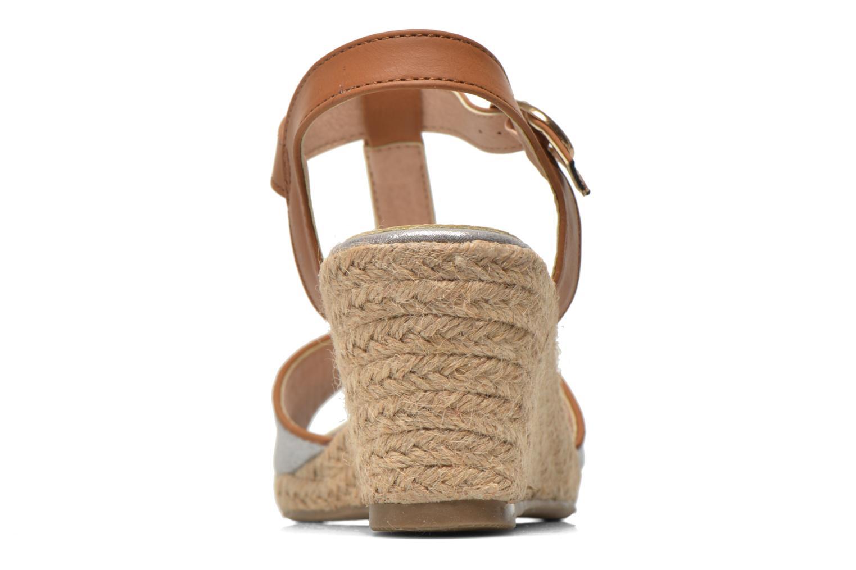 Sandales et nu-pieds Refresh Palino-60523 Argent vue droite