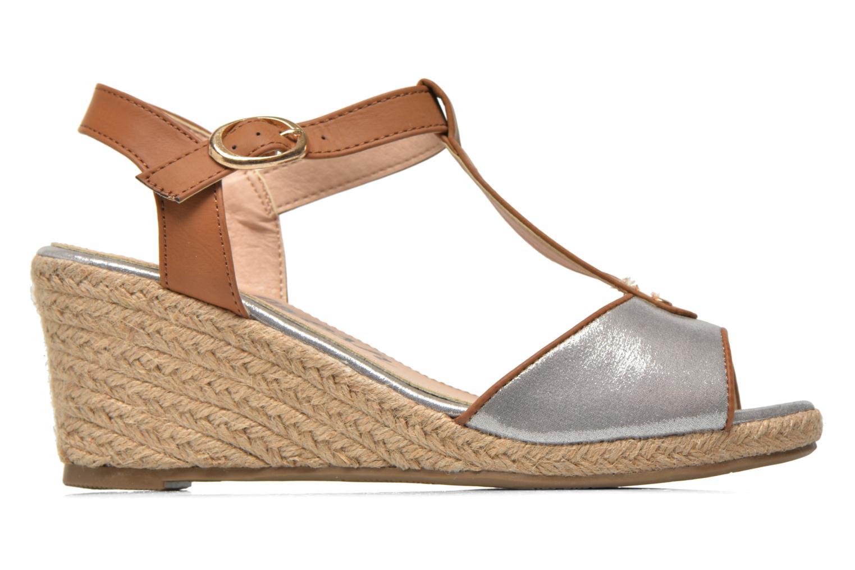 Sandales et nu-pieds Refresh Palino-60523 Argent vue derrière