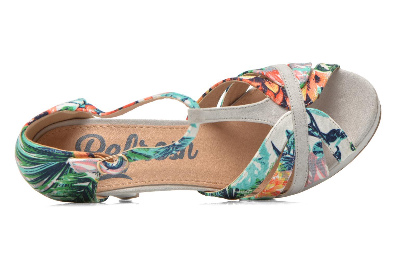 Sandales et nu-pieds Refresh Fanisia-60952 Multicolore vue gauche