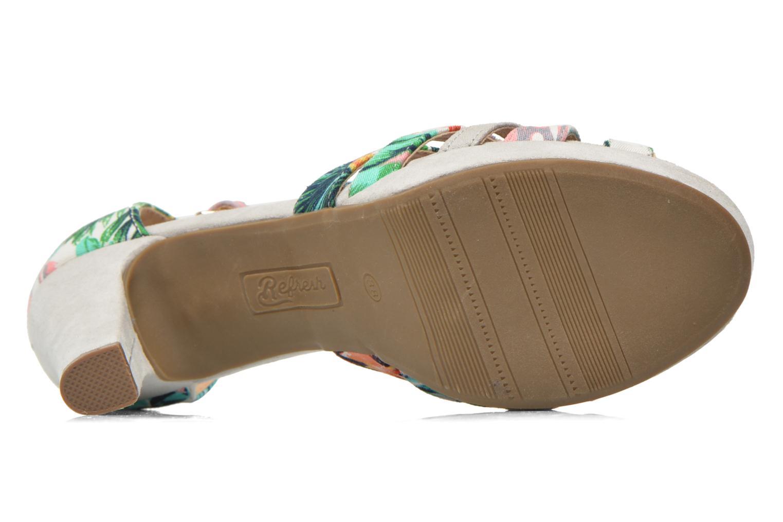Sandales et nu-pieds Refresh Fanisia-60952 Multicolore vue haut