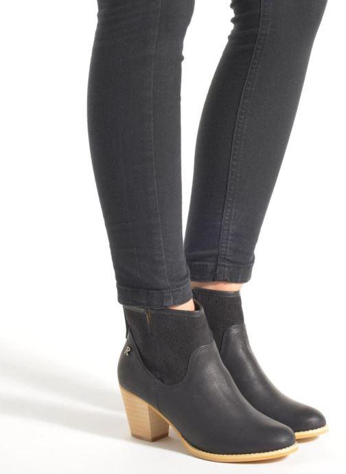 Bottines et boots Refresh Omalia-61706 Blanc vue bas / vue portée sac