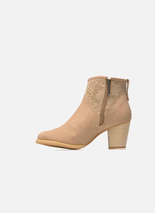 Bottines et boots Refresh Omalia-61706 Blanc vue face