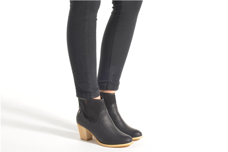 Bottines et boots Refresh Omalia-61706 Noir vue bas / vue portée sac