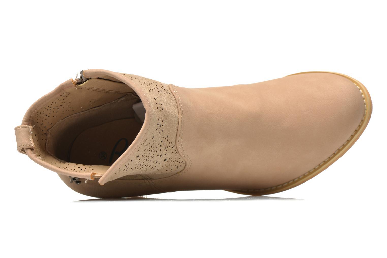 Bottines et boots Refresh Omalia-61706 Blanc vue gauche