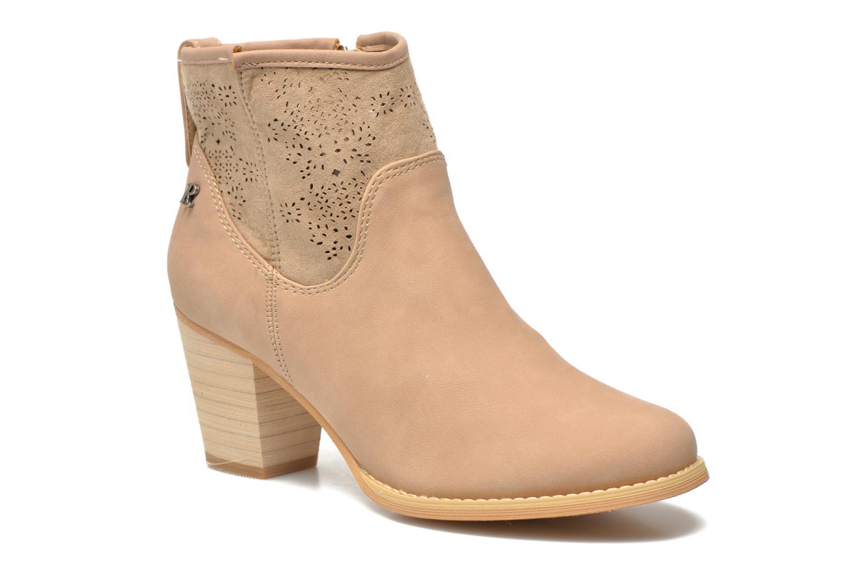 Bottines et boots Refresh Omalia-61706 Blanc vue détail/paire