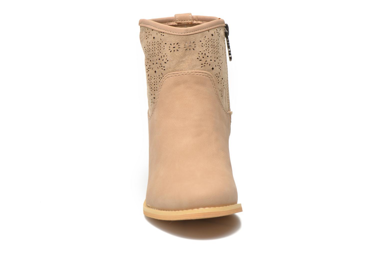 Bottines et boots Refresh Omalia-61706 Beige vue portées chaussures