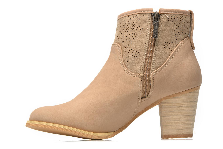 Bottines et boots Refresh Omalia-61706 Beige vue face