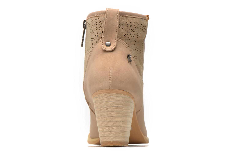 Bottines et boots Refresh Omalia-61706 Beige vue droite