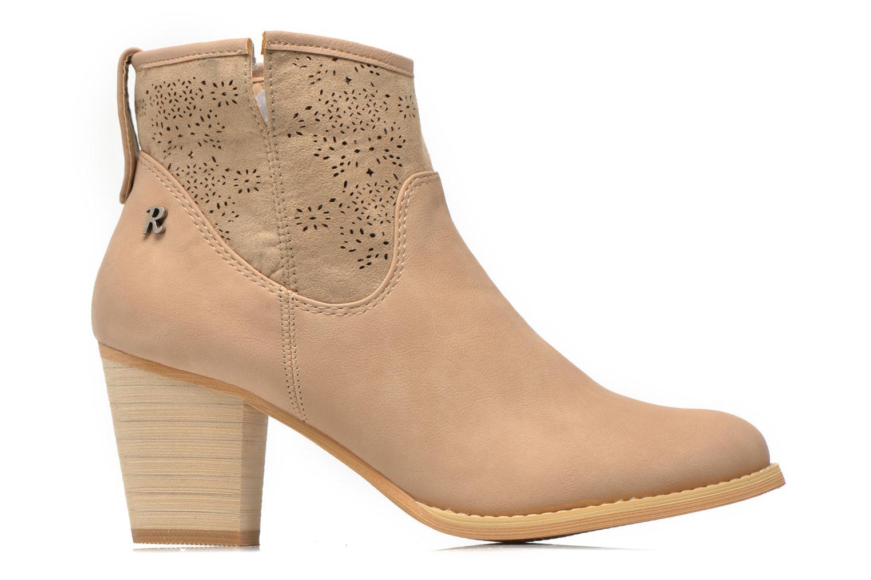 Bottines et boots Refresh Omalia-61706 Beige vue derrière