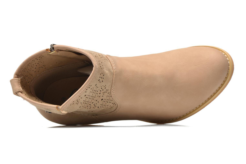 Bottines et boots Refresh Omalia-61706 Beige vue gauche
