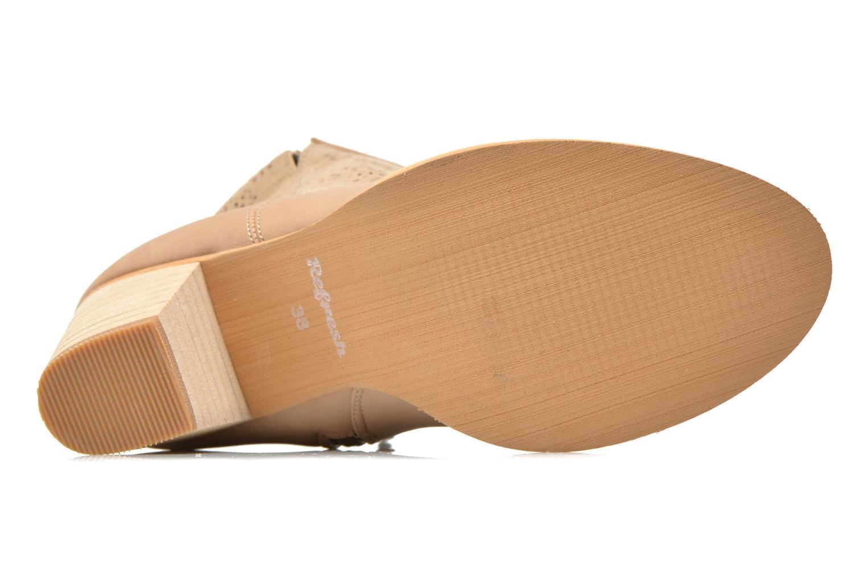 Bottines et boots Refresh Omalia-61706 Beige vue haut