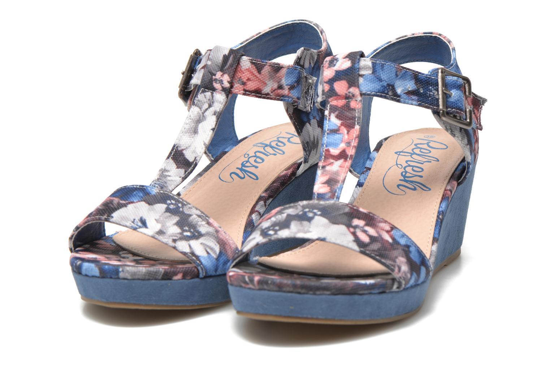 Sandales et nu-pieds Refresh Miralie-61768 Bleu vue 3/4