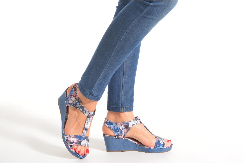 Sandales et nu-pieds Refresh Miralie-61768 Bleu vue bas / vue portée sac