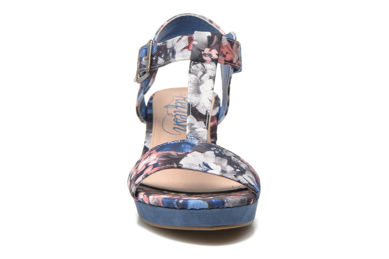 Sandales et nu-pieds Refresh Miralie-61768 Bleu vue portées chaussures