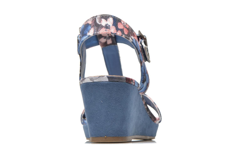 Sandales et nu-pieds Refresh Miralie-61768 Bleu vue droite