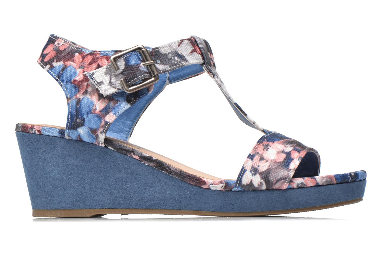 Sandales et nu-pieds Refresh Miralie-61768 Bleu vue derrière