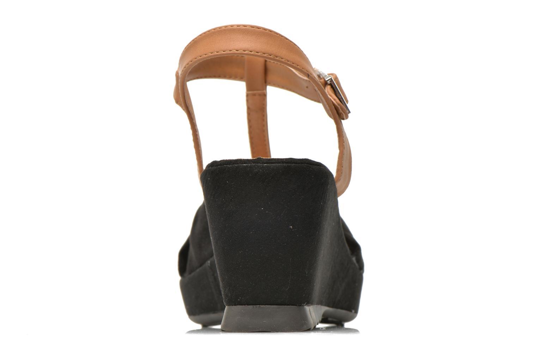 Sandales et nu-pieds Refresh Cassida-61790 Noir vue droite