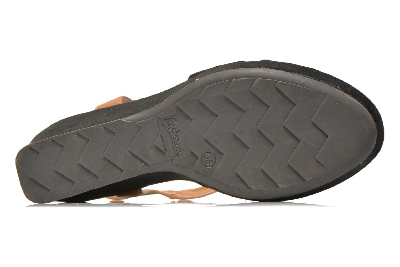 Sandales et nu-pieds Refresh Cassida-61790 Noir vue haut