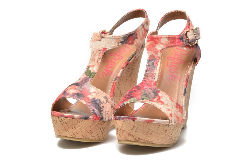 Sandales et nu-pieds Refresh Yalta-61830 Multicolore vue 3/4