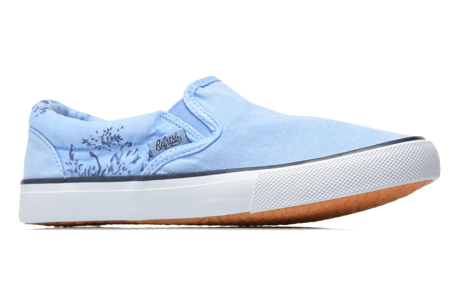 Trainers Refresh Zenia-61896 Blue back view