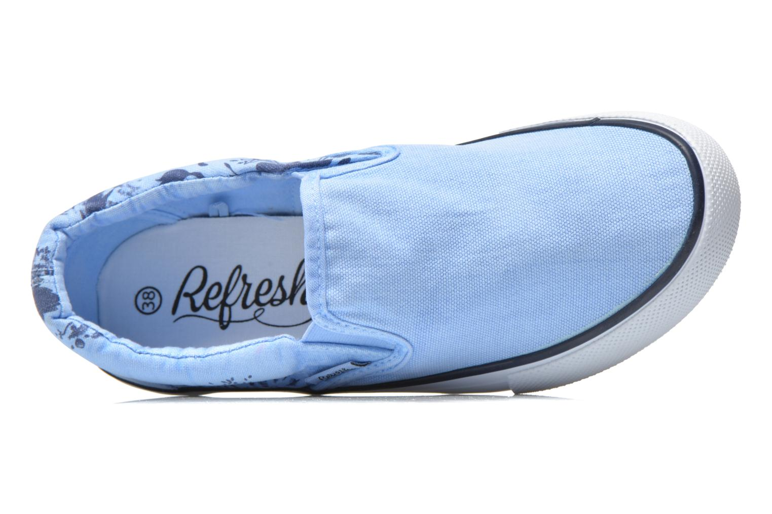 Trainers Refresh Zenia-61896 Blue view from the left