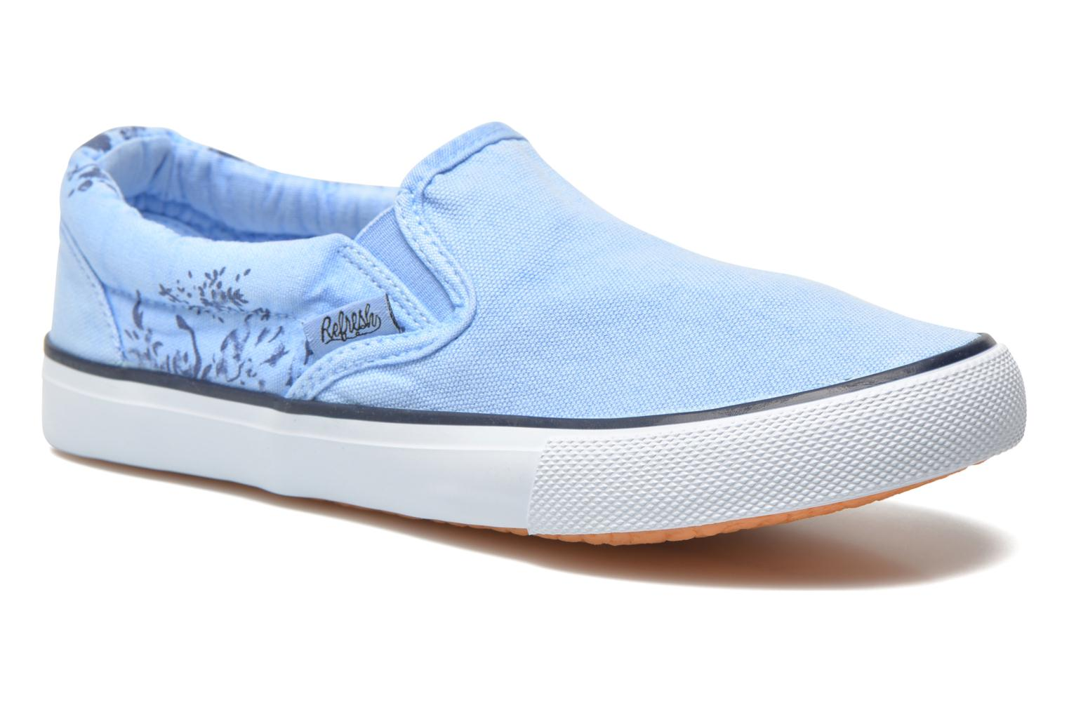 Trainers Refresh Zenia-61896 Blue detailed view/ Pair view