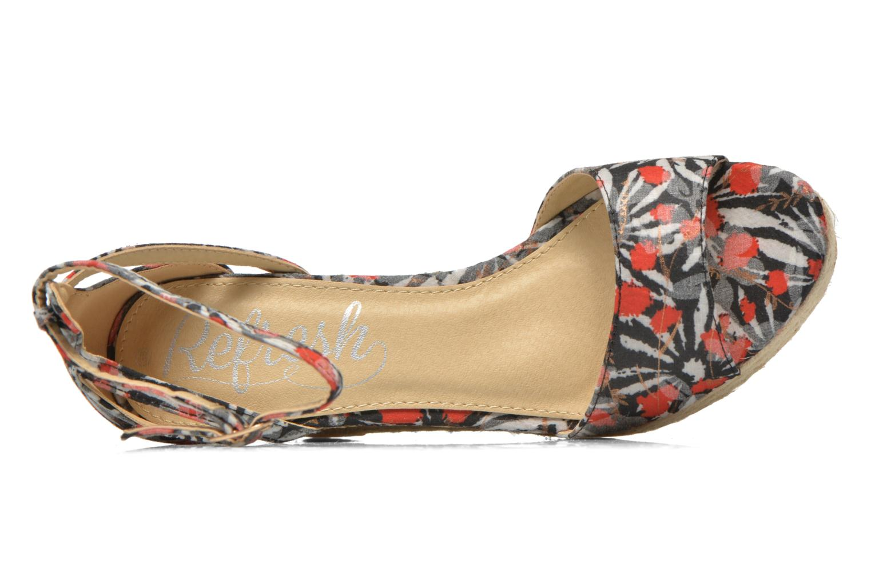 Sandales et nu-pieds Refresh Omnila-62010 Noir vue gauche