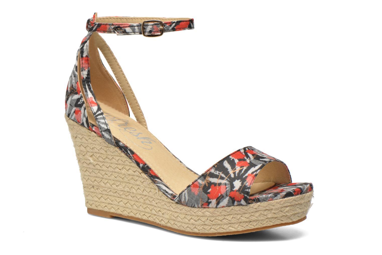 Sandales et nu-pieds Refresh Omnila-62010 Noir vue détail/paire