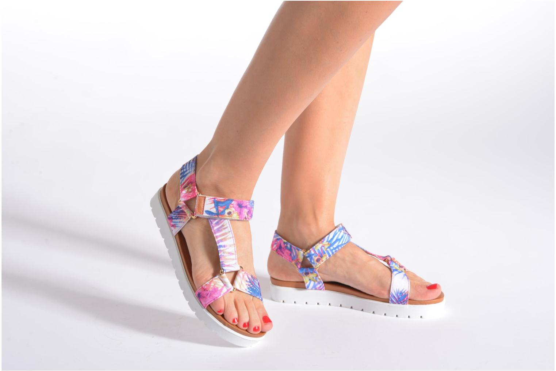 Sandales et nu-pieds Refresh Berlinia-62029 Multicolore vue bas / vue portée sac