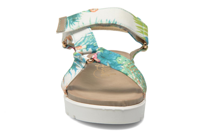 Sandales et nu-pieds Refresh Berlinia-62029 Multicolore vue portées chaussures