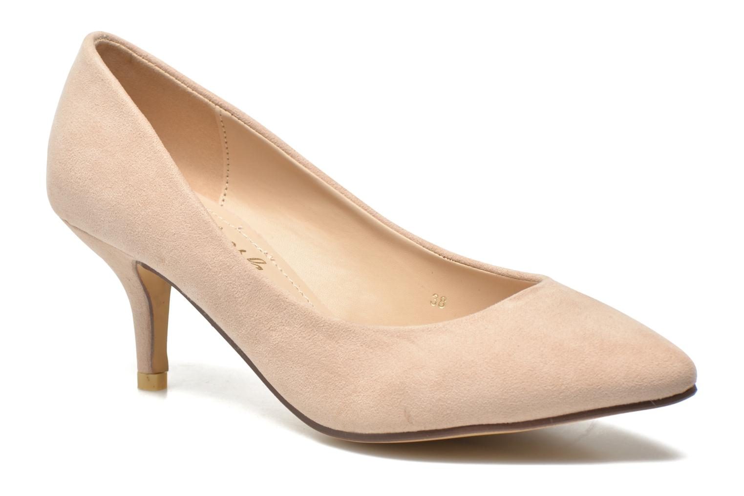 High heels Refresh Coquelina-62054 Beige detailed view/ Pair view