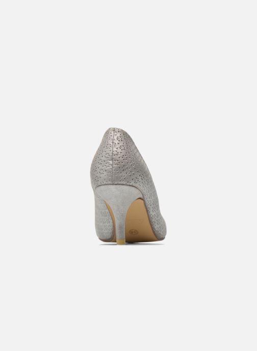 Zapatos de tacón Refresh Inidia-62055 Plateado vista lateral derecha