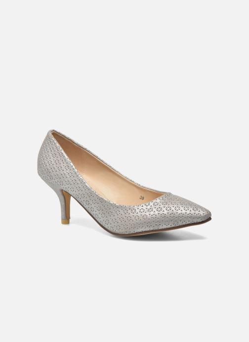 Zapatos de tacón Refresh Inidia-62055 Plateado vista de detalle / par