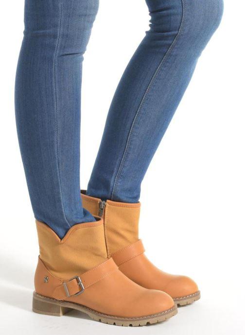 Boots en enkellaarsjes Refresh Lorma-62083 Bruin onder