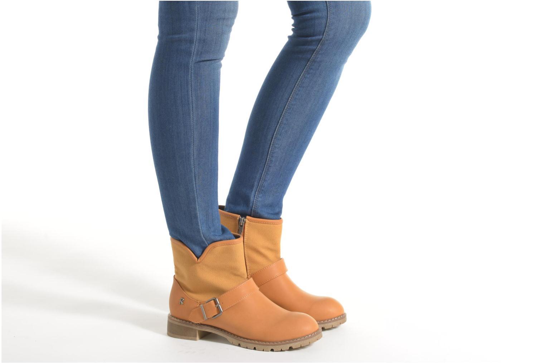 Bottines et boots Refresh Lorma-62083 Noir vue bas / vue portée sac