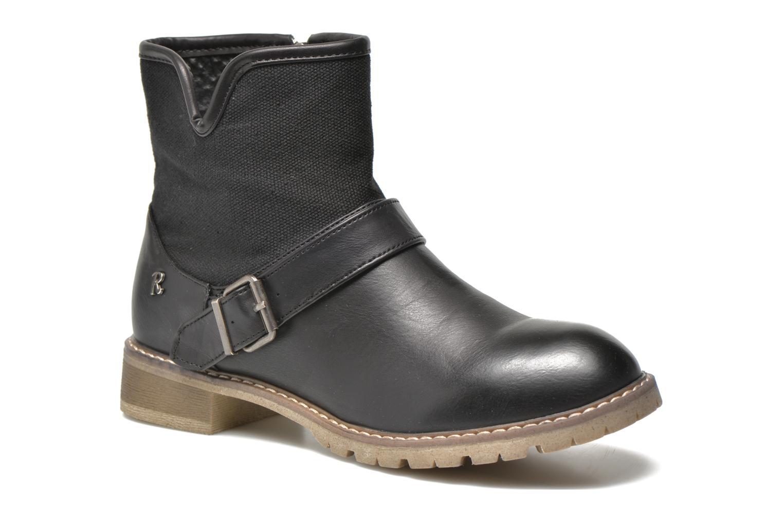 Bottines et boots Refresh Lorma-62083 Noir vue détail/paire