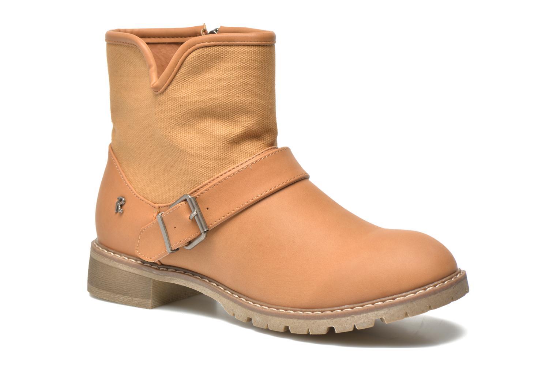 Ankelstøvler Refresh Lorma-62083 Brun detaljeret billede af skoene