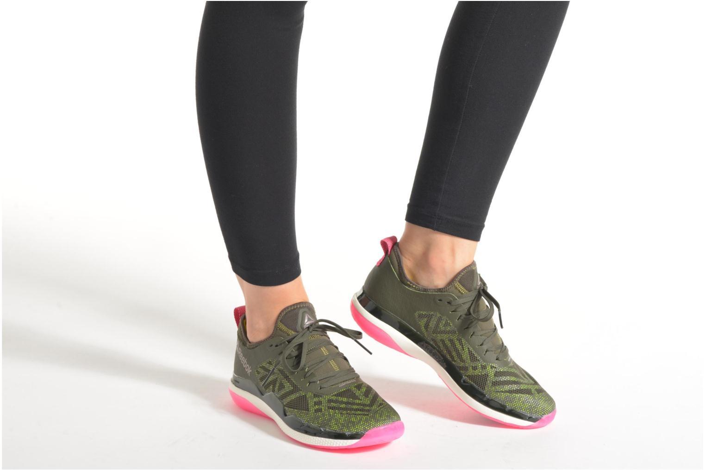 Chaussures de sport Reebok Cardio Ultra 3.0 Vert vue bas / vue portée sac