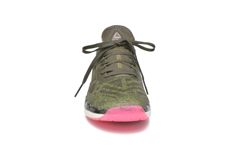 Chaussures de sport Reebok Cardio Ultra 3.0 Vert vue portées chaussures